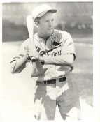 Terry Moore LIMITED STOCK St. Louis Cardinals 8X10 Photo