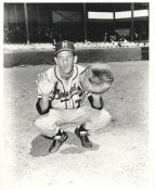 Del Rice LIMITED STOCK Milwaukee Braves 8X10 Photo