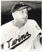 Sam Mele LIMITED STOCK Minnesota Twins 8X10 Photo