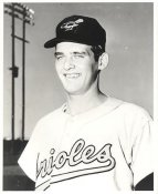 Don Larsen LIMITED STOCK Baltimore Orioles 8X10 Photo