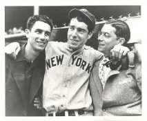 Joe Dimaggio & Brothers LIMITED STOCK New York Yankees 8X10 Photo