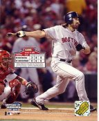 Johnny Damon LIMITED STOCK Game 4 World Series 2004 Boston Red Sox 8X10 Photo