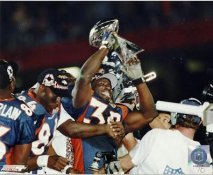 Terrell Davis LIMITED STOCK Super Bowl Champs Denver Broncos 8X10 Photo