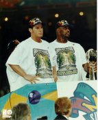 Reggie White & Brett Favre Super Bowl 31 LIMITED STOCK Green Bay Packers 8X10 Photo