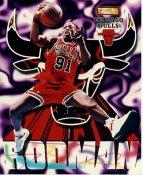 Dennis Rodman LIMITED STOCK Chicago Bulls 8X10 Photo