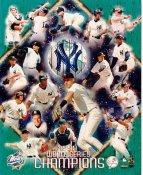 Joe Torre, Orlando Hernandez, Mariano Rivera, Darryl Strawberry, Roger Clemens LIMITED STOCK 1999 World Series Yankees 8X10 Photo