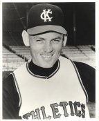 Norm Siebern LIMITED STOCK Kansas City Athletics 8x10 Photo