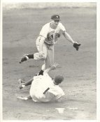 Pokey Reese Sliding LIMITED STOCK Boston Red Sox 8X10 Photo