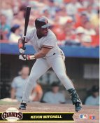 Kevin Mitchell LIMITED STOCK San Francisco Giants Glossy Card Stock 8X10 Photo