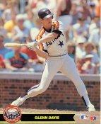 Glenn Davis LIMITED STOCK Houston Astros Glossy Card Stock 8X10 Photo