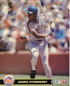 Darryl Strawberry LIMITED STOCK New York Mets Glossy Card Stock 8X10 Photo