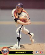 Mike Scott LIMITED STOCK Houston Astros Glossy Card Stock 8X10 Photo