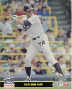 Carlton Fisk LIMITED STOCK Chicago White Sox Glossy Card Stock 8X10 Photo
