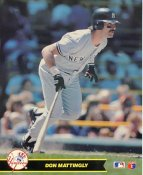 Don Mattingly LIMITED STOCK New York Yankees Glossy Card Stock 8X10 Photo