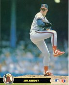 Jim Abbott LIMITED STOCK Anaheim Angels Glossy Card Stock 8X10 Photo