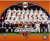 Giants 2012 World Series Champions Sit Down Composite San Francisco 8X10 Photo