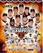 Giants 2012 World Series Champions Composite LIMITED STOCK San Francisco 8X10 Photo