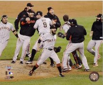 Giants 2012 Celebrate World Series Win San Francisco 8X10 Photo