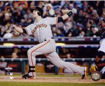 Buster Posey 2012 World Series Game 4 / 2 Run HR San Fran Giants 8X10 Photo