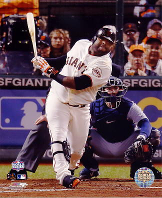 Pablo Sandoval 2012 WS Game 1 Solo HR 5th Inning San Francisco Giants 8X10 Photo