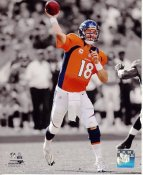Peyton Manning Spotlight Denver Broncos SATIN 8X10 Photo