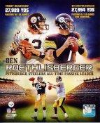 Ben Roethlisberger Passing Yards Leader Pittsburgh Steelers 8x10 Photo