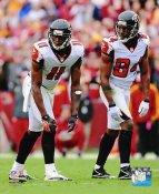 Roddy White & Julio Jones Atlanta Falcons 8X10 Photo