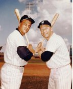 Roger Maris and Mickey Mantle SUPER SALE No Hologram New York Yankees 8x10 Photo