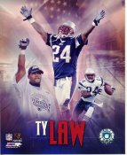 Ty Law LIMITED STOCK New England Patriots 8X10 Photo