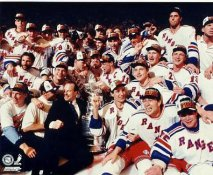 Mike Richter, Brian Leetch, Adam Graves, Mark Messier LIMITED STOCK 1994 New York Rangers Stanley Cup Champs on Ice 8x10 Photo
