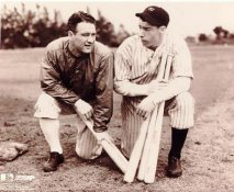 Lou Gehrig & Joe Dimaggio LIMITED STOCK New York Yankees 8X10 Photo