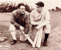 Lou Gehrig & Joe Dimaggio LIMITED STOCK New York Yankees 8X10 Photo