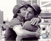Tom Seaver & Johnny Bench LIMITED STOCK New York Mets 8X10 Photo
