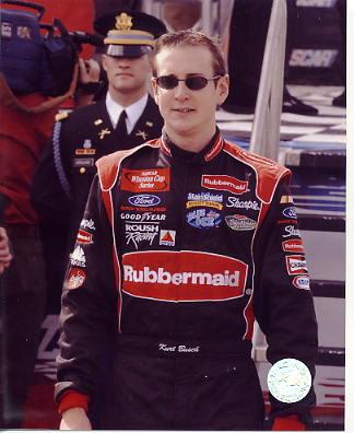 Kurt Busch LIMITED STOCK Racing 8x10 Photo