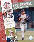 Daisuke Matsuzaka 2007 Arrival LIMITED STOCK Red Sox 8x10 Photo