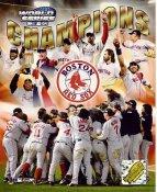 Mike Timlin, Manny Ramirez, Johnny Damon, Jason Varitek, David Ortiz, Bill Mueller LIMITED STOCK 2004 World Series Champs Boston Red Sox 8x10 Photo