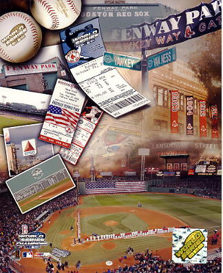 N2 Fenway Park 2004 World Series Boston Red Sox 8x10 Photo