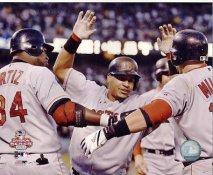 David Ortiz & Manny Ramirez LIMITED STOCK 2003 A.L. Series Boston Red Sox 8x10 Photo