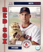 Keith Foulke LIMITED STOCK Boston Red Sox 8x10 Photo
