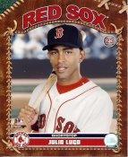 Julio Lugo LIMITED STOCK Boston Red Sox 8x10 Photo