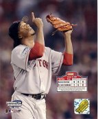 Pedro Martinez LIMITED STOCK Game 3 World Series 2004 Boston Red Sox 8X10 Photo