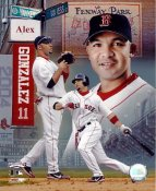 Alex Gonzalez LIMITED STOCK Boston Red Sox 8x10 Photo