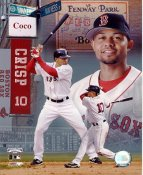 Coco Crisp LIMITED STOCK Boston Red Sox 8x10 Photo