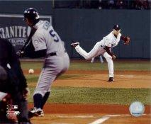 Daisuke Matsuzaka Pitching to Ichiro LIMITED STOCK Boston Red Sox 8x10 Photo