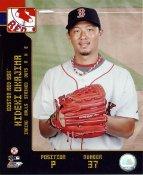Hideki Okajima LIMITED STOCK Red Sox 8x10 Photo