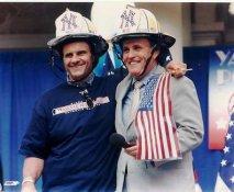 Joe Torre & Mayor Guiliani LIMITED STOCK New York Yankees 8X10 Photo