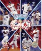 Mariano Rivera, Derek Jeter LIMITED STOCK New York Yankees vs Boston Red Sox 2003 American League Series 8X10 Photo