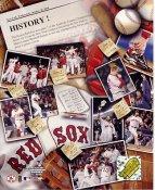 Bill Mueller, David Ortiz, Curt Schilling, Manny Ramirez, Pedro Martinez, Johnny Damon LIMITED STOCK 2004 ALCS Champions Boston Red Sox 8x10 Photo