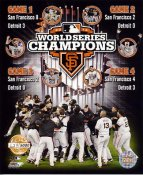 Giants 2012 World Series Champions Numbered Limited Edition San Francisco 8X10 Photo