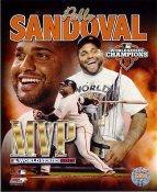 Pablo Sandoval 2012 WorldSeries MVP San Francisco Giants SATIN 8X10 Photo